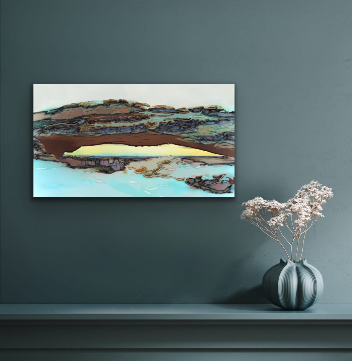 """Put some spiritual inspiration in your living space with """"Tempest Stone."""""""