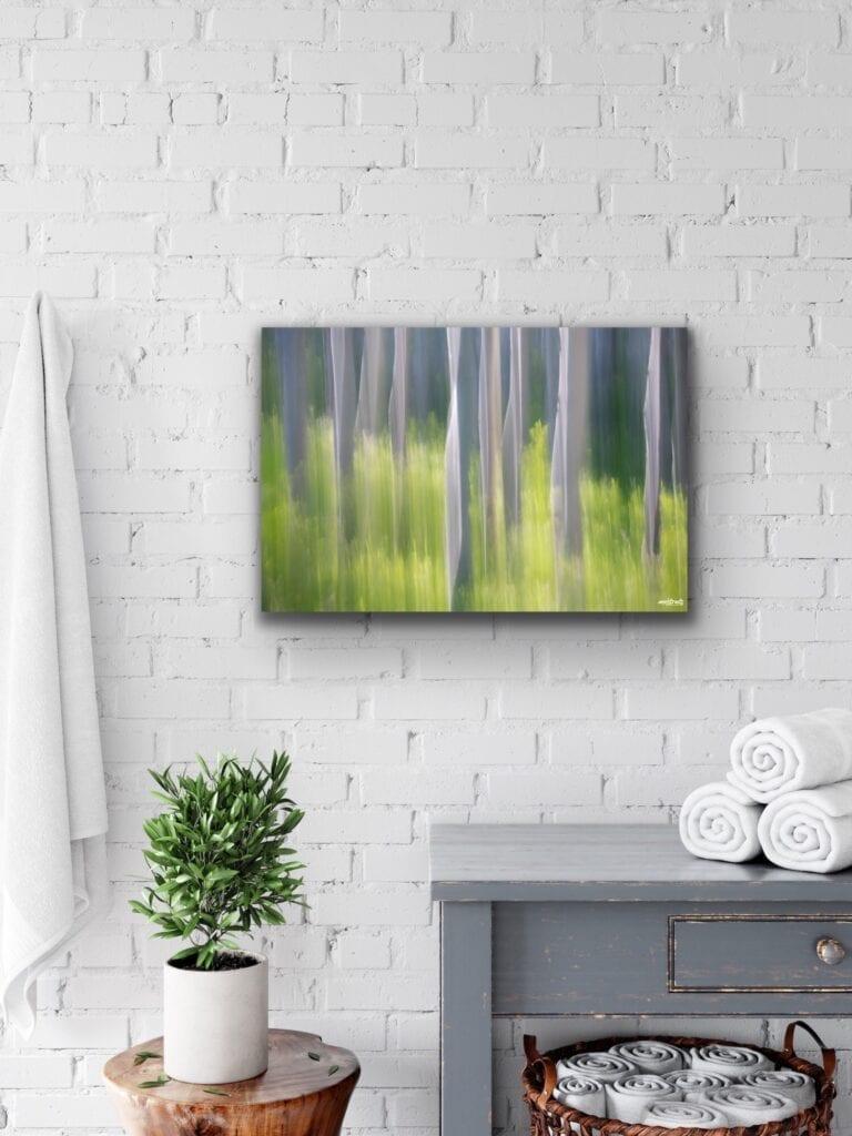 Abstract Aspen Trees